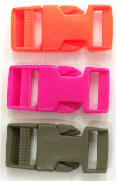 1 inch bsr buckles in colors