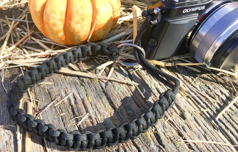 DIY Para Cord Camera Strap