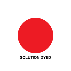 solution-dyed