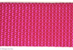 1 inch pink heavyweight poly webbing