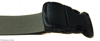 buckle with cam closed