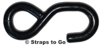 Vinyl coated steel S hook