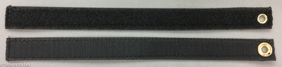 Velcro strap with grommets