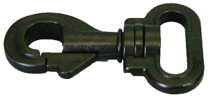 1 inch plastic swivel bolt snap