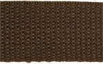 1 inch brown poly webbing