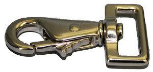 1 inch nickel plated swivel snap