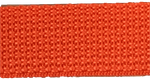 1 inch orange poly webbing