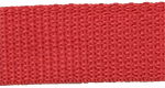 1 inch red poly webbing
