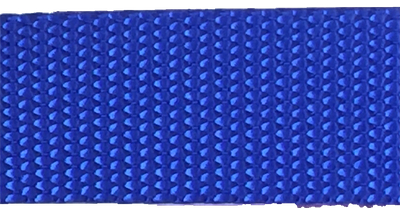 1 inch royal blue heavyweight nylon webbing