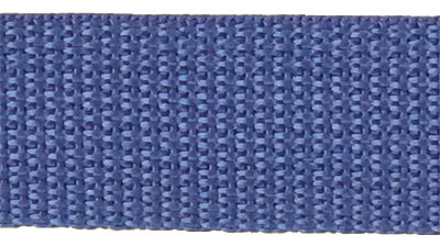 1 inch royal blue poly webbing