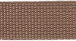 1 inch taupe poly webbing