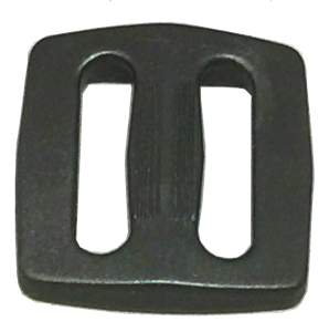 1 inch black acetal type 5 single bar slide