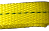 1 inch yellow polyester sling webbing