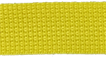 1 inch yellow poly webbing