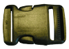 1½ inch black side release buckle