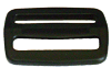 1½ inch black acetal single bar slide