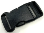 1 inch black side release buckle