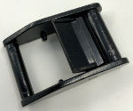 1 inch black die cast zinc cam buckle