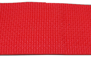 2 inch red poly webbing