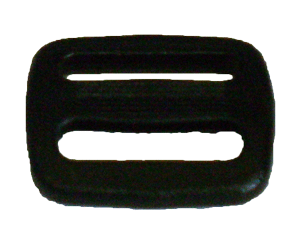 ¾ inch black acetal single bar slide