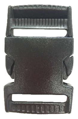 1.5 inch black side release buckle