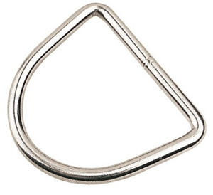 2 Inch Stainless Steel D Ring